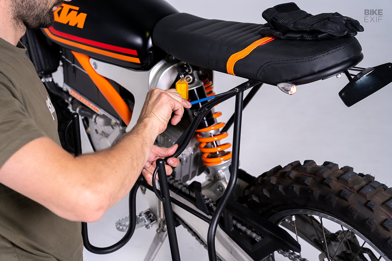 KTM Freeride EX C electric scrambler by Grid Cycles