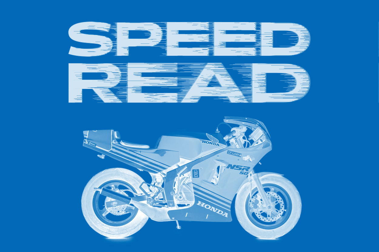 The latest motorcycle news, classics and customs
