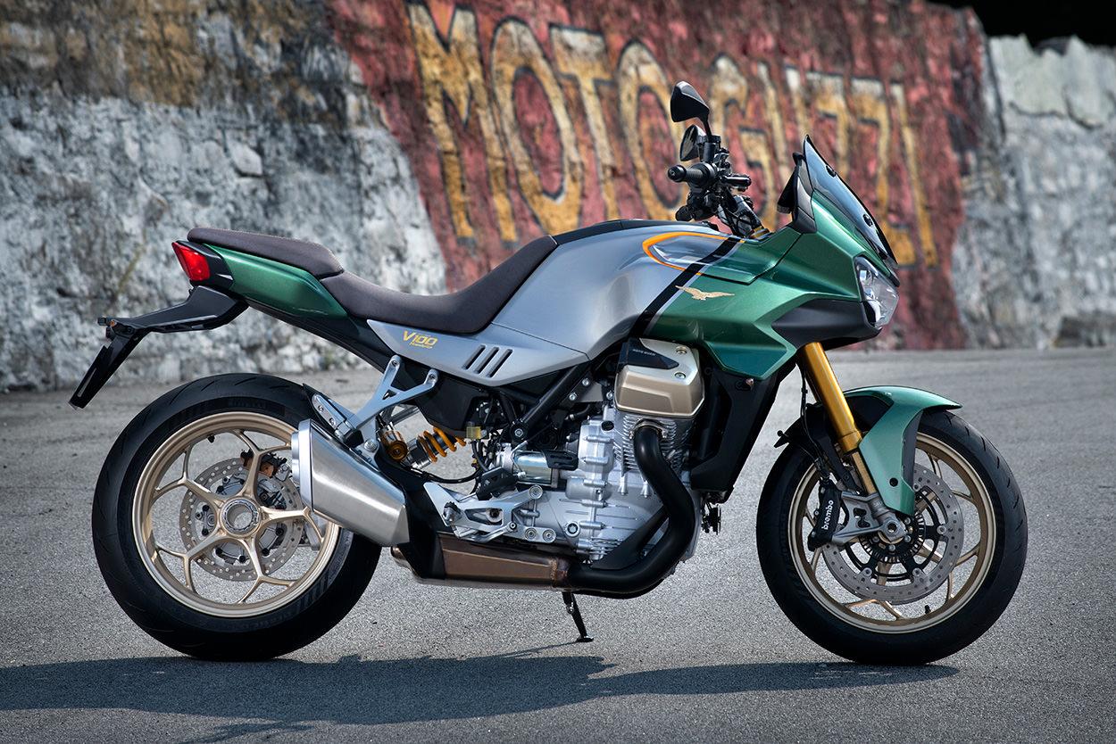 The new Moto Guzzi V100 Mandello