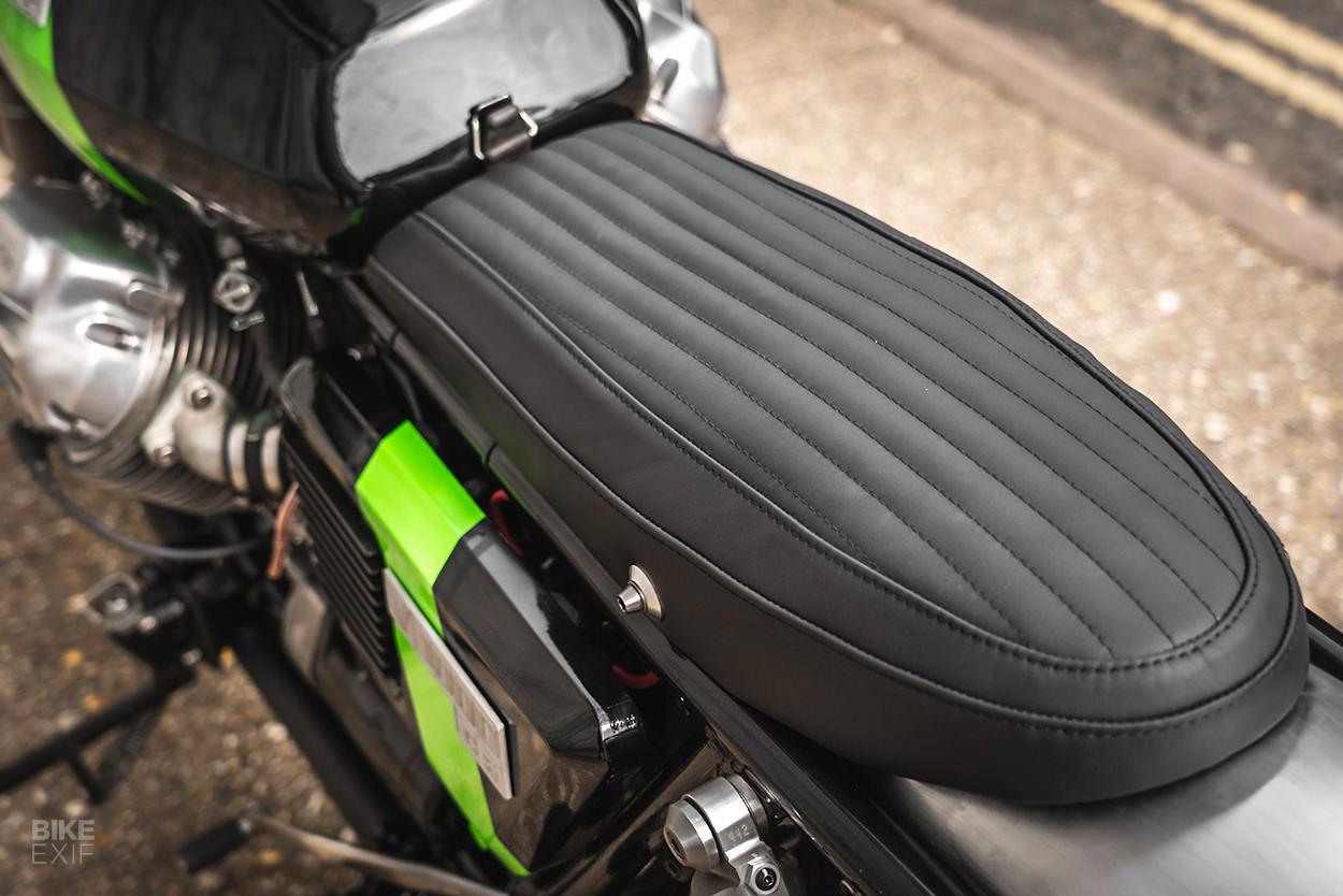 Moto Guzzi V1000 restomod by Foundry Motorcycle