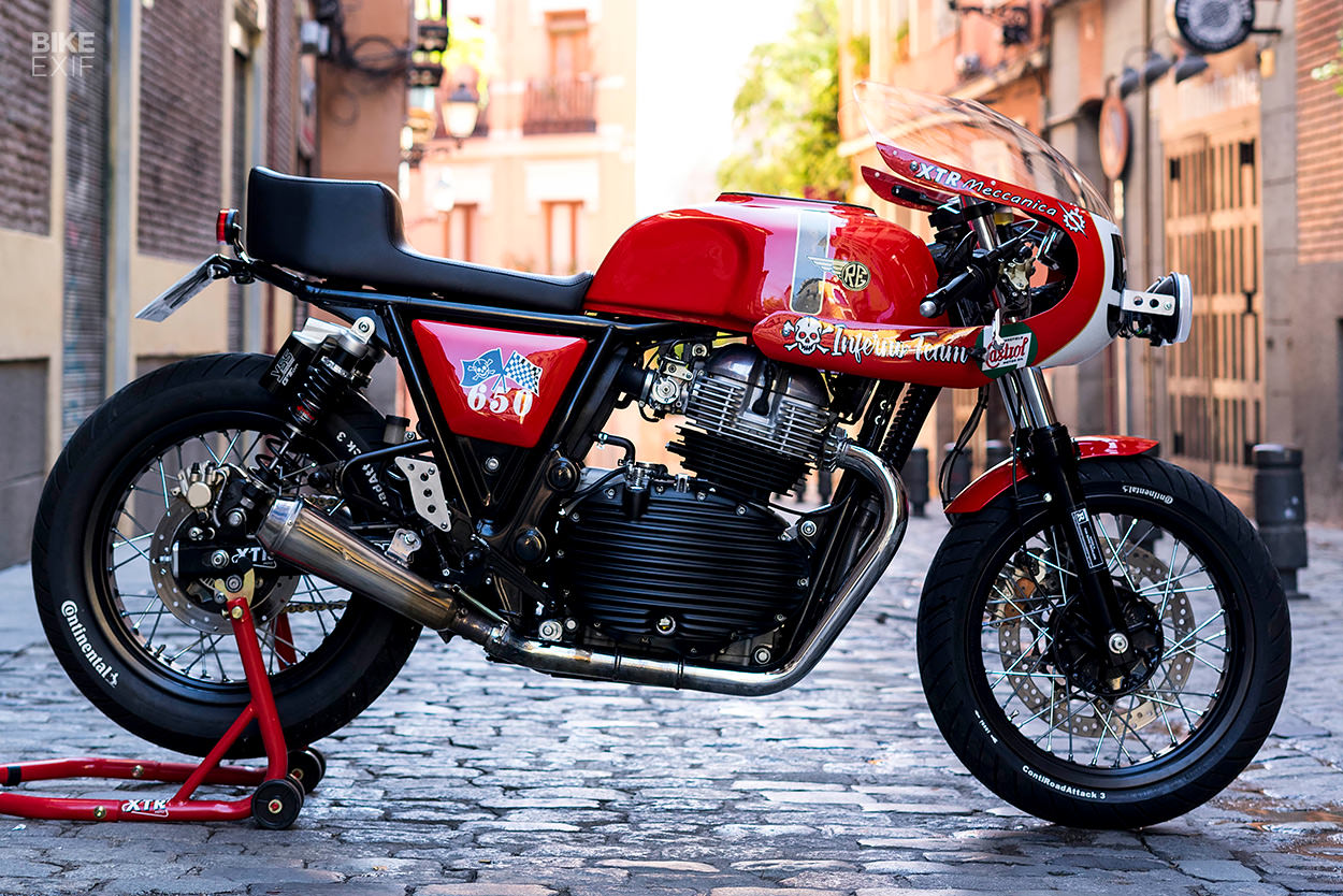 Royal Enfield Continental GT 650 by XTR Pepo