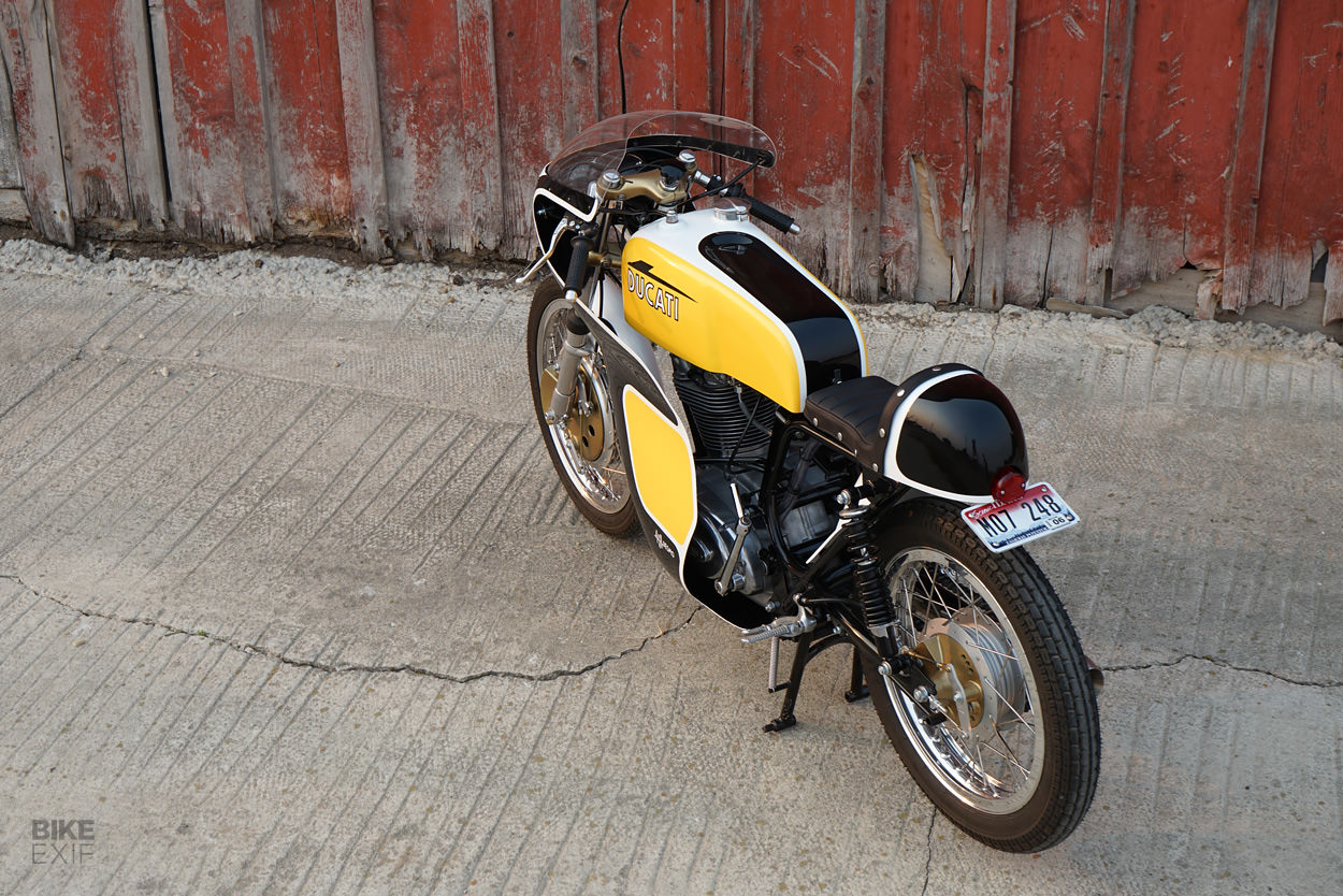 1971 Ducati 450 Desmo restomod by Union Motorcycle Classics