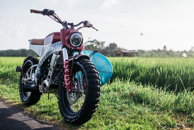 A Yard Built Yamaha XSR155 from Deus Bali
