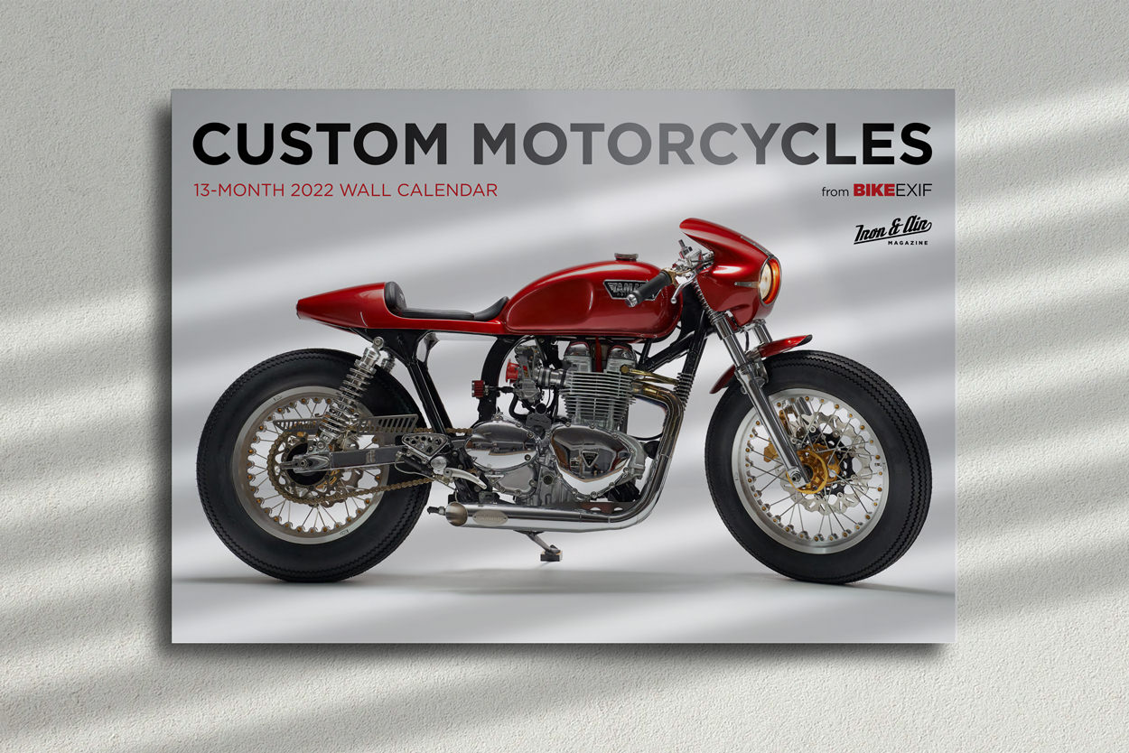 The 2022 edition of the world's most popular motorcycle calendar is now on sale.
