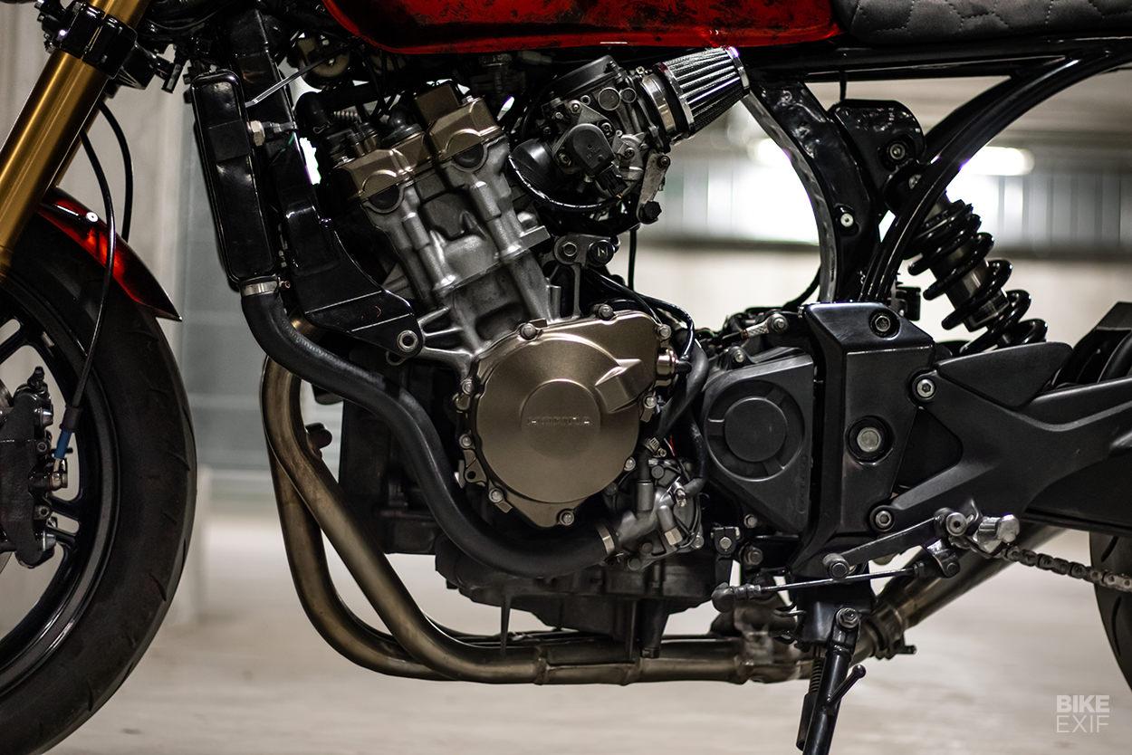 Honda CBF600 cafe racer by Custommade C.A.