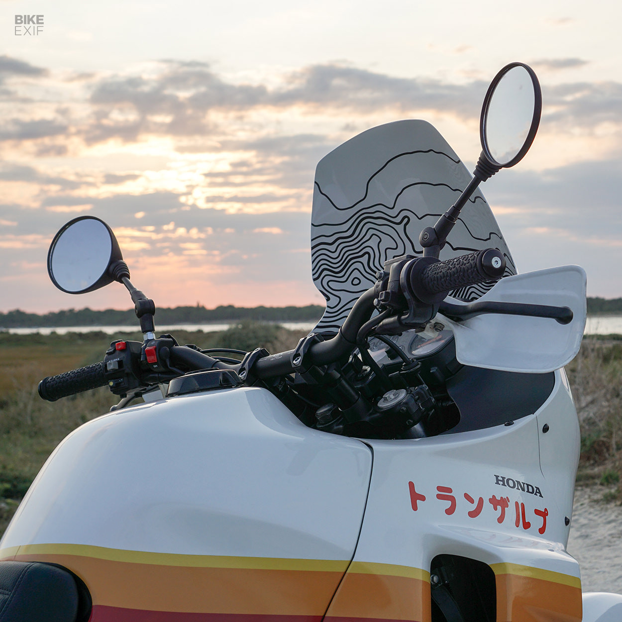 1987 Honda Transalp adventure bike by Viba