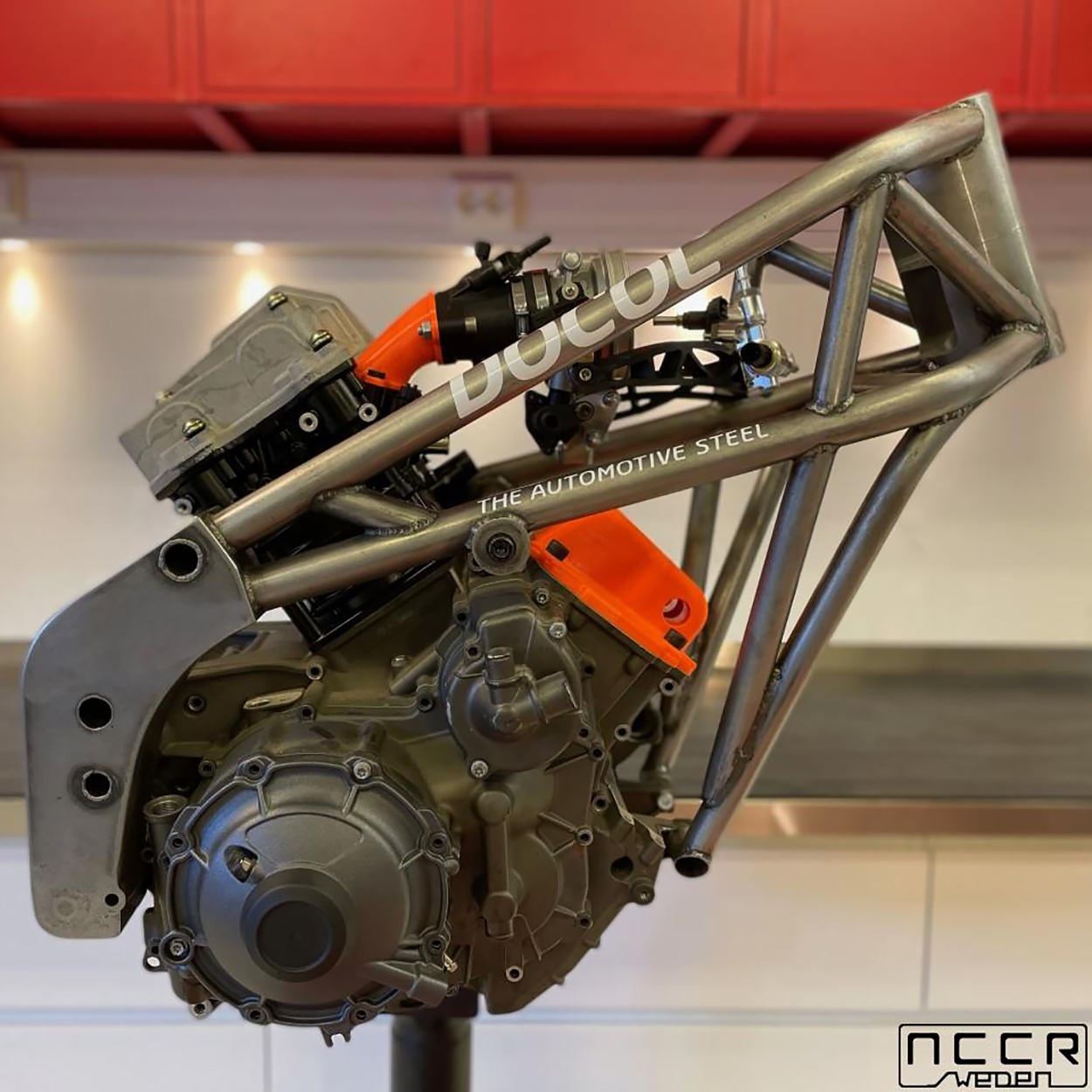 Buell super single engine by NCCR