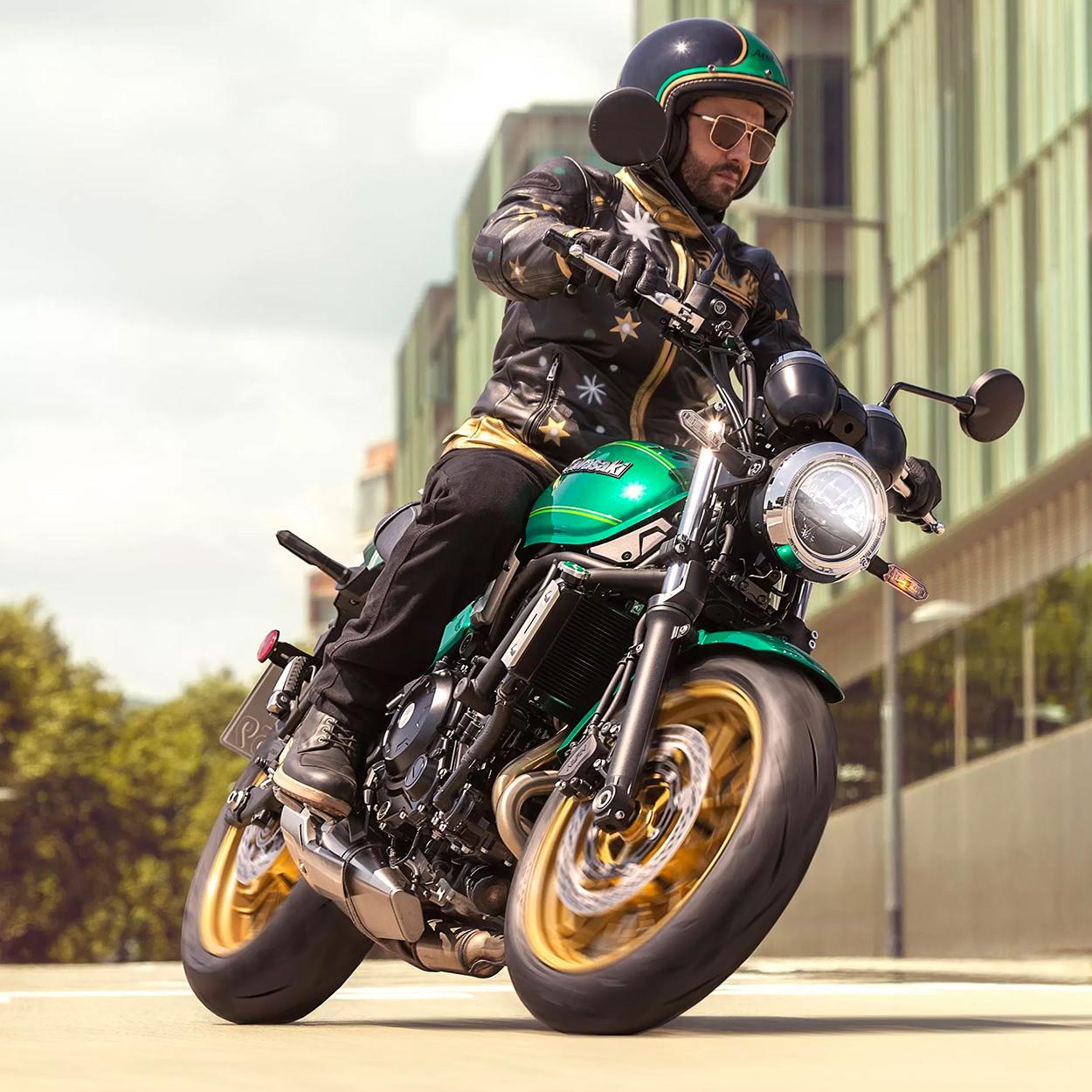 The new Kawasaki Z650RS