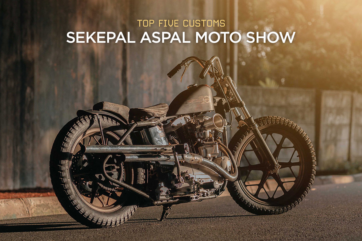 Top customs from the Indonesian Sekepal Aspal show