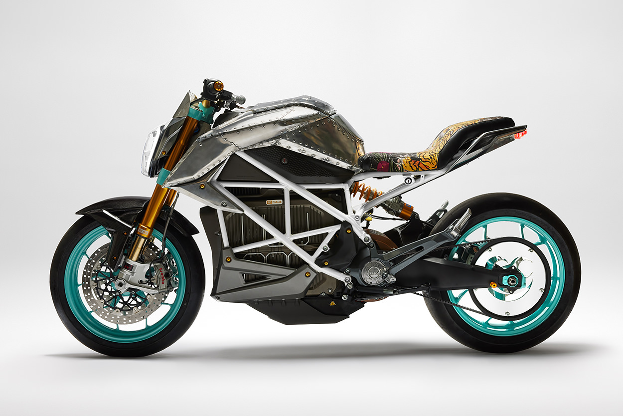 Tinker Hatfield custom Zero motorcycle