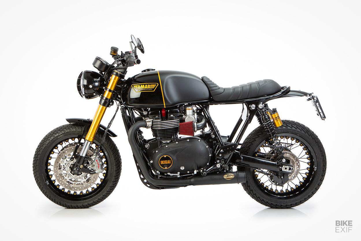 Custom Triumph Thruxton RS by Tamarit Motorcycles