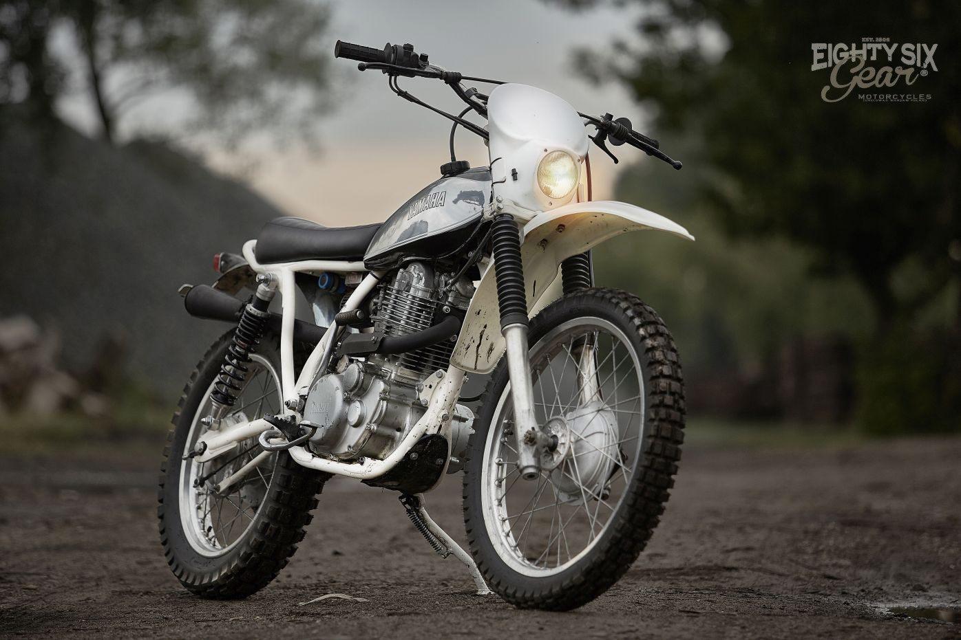 Yamaha SR500 enduro by 86 Gear